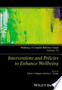 Wellbeing A Complete Reference Guide Interventions And Policies To Enhance Wellbeing Book PDF