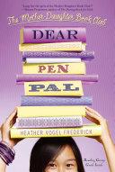 Pdf Dear Pen Pal