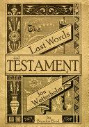 Pdf The Last Words and Testament of Jon Wetterholm