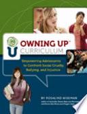 Owning Up Curriculum Book