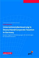 Corporate Taxation in Germany