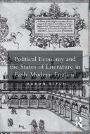 Pdf Political Economy and the States of Literature in Early Modern England