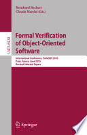 Formal Verification of Object-Oriented Software