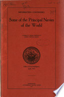 Information concerning some of the principal navies of the world : a series of tables compiled to answer popular inquiry