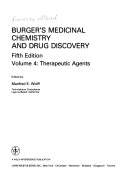 Burger s Medicinal Chemistry and Drug Discovery  Therapeutic agents
