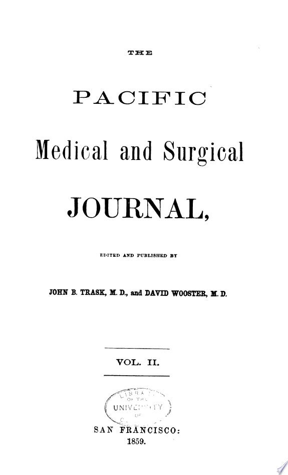Pacific Medical Journal