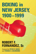 Boxing in New Jersey  1900  1999