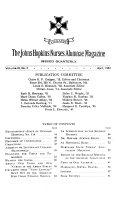 The Johns Hopkins Nurses Alumnae Magazine