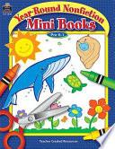 Year Round Nonfiction Mini Books