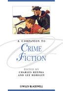 Pdf A Companion to Crime Fiction Telecharger