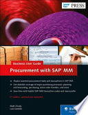 Procurement with SAP MM