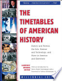 The Timetables of American History Book