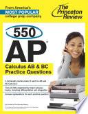 550 Ap Calculus Ab Bc Practice Questions