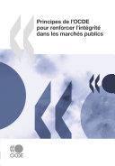 Principes de l'OCDE pour renforcer l'intégrité dans les marchés publics Pdf/ePub eBook