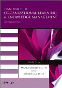 Handbook of Organizational Learning and Knowledge Management Book