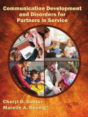 Communication Development and Disorders for Partners in Service