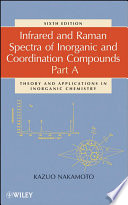 Infrared and Raman Spectra of Inorganic and Coordination Compounds  Part A