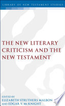 The New Literary Criticism and the New Testament
