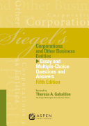 Siegel's Corporations and Other Business Entities