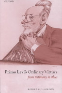Primo Levi's Ordinary Virtues