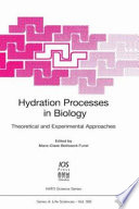Hydration Processes In Biology Book PDF