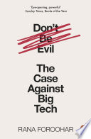 Don T Be Evil Book