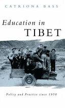 Education In Tibet Book PDF