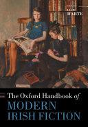 The Oxford Handbook of Modern Irish Fiction Pdf/ePub eBook