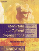 Marketing for Cultural Organisations