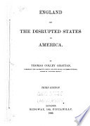 England and the Disrupted States of America Book PDF