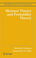Measure Theory and Probability Theory