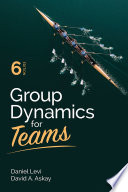 Group Dynamics for Teams Book PDF