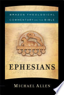 Ephesians Brazos Theological Commentary On The Bible