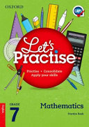 Books - Oxford Lets Practise Mathematics Grade 7 Practice Book | ISBN 9780199045570