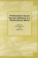 Professional Social Service Delivery in a Multicultural World Book