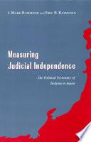 Measuring Judicial Independence