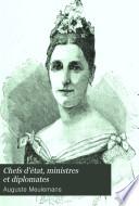Chefs d'état, ministres et diplomates Esquisses et portraits, Ser. 2
