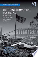Fostering Community Resilience Book
