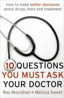 Ten Questions You Must Ask Your Doctor Pdf
