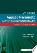 Applied Paramedic Law Ethics And Professionalism Second Edition Ebook