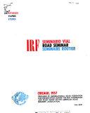 IRF Seminario Vial