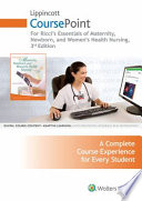 Essentials of Maternity, Newborn, and Women's Health Nursing Lippincott Coursepoint Access Code