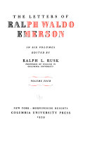 The Letters of Ralph Waldo Emerson