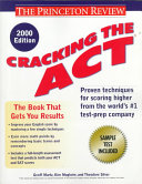 Cracking the ACT 2000 2001
