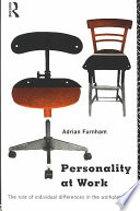 Personality at Work Book