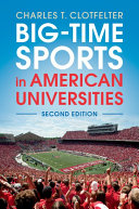 Pdf Big-Time Sports in American Universities