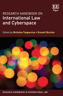 Research Handbook on International Law and Cyberspace: