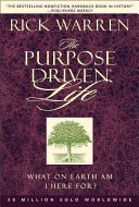 The purpose-driven life