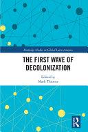 The First Wave of Decolonization Pdf/ePub eBook