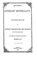 Wellman's Literary Miscellany